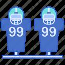 football, sled icon