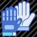 football, game, gloves