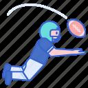 football, receiver, sport icon
