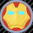 hero, iron man icon