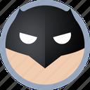 batman, hero icon