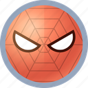 hero, spiderman icon