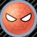 hero, spiderman icon