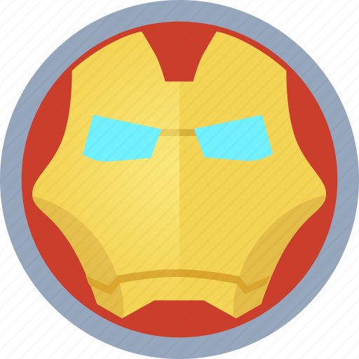 hero, iron man icon