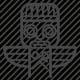 american, amulet, indian, native, ojibwe dodaem, totem, tribe icon