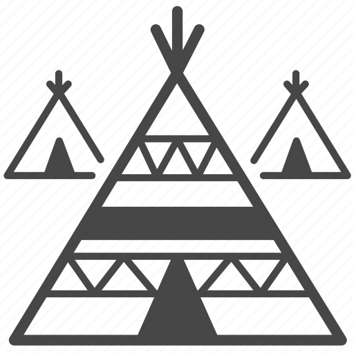 american, house, indian, native, tent, tepees, tipis icon