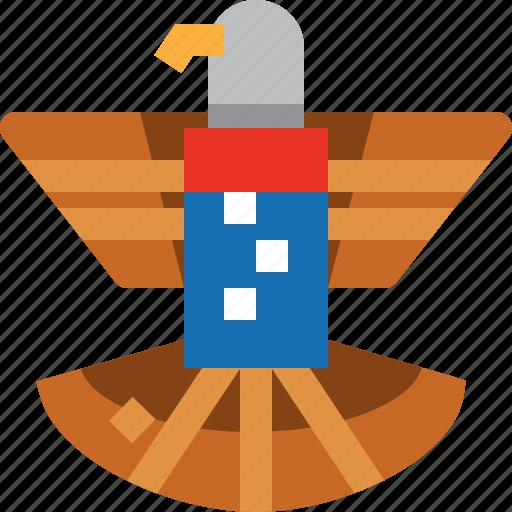 american, eagle, sign, united state, usa icon