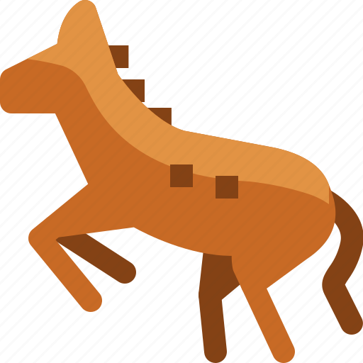 american, animal, cowboy, horse, pet, usa icon