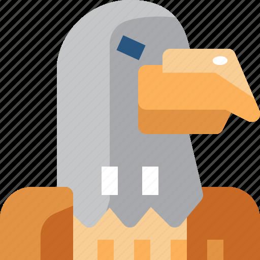 American, animal, bird, eagle, united states, usa, wild icon - Download on Iconfinder