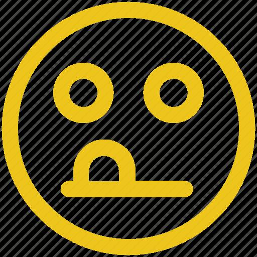 emoji, emoticon, face, oddball icon icon