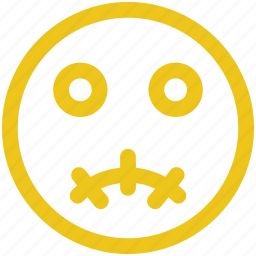 emoji, emoticons, face, surprised icon icon