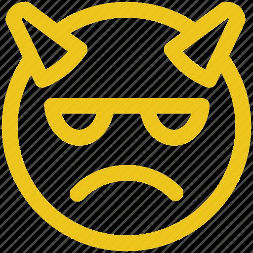 angry, emoji, emoticon, mad icon icon