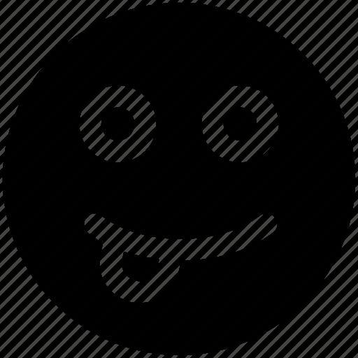 emoji, emoticons, face, happy icon icon