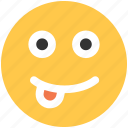 emoji, emoticons, face, happy icon icon