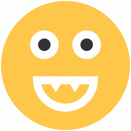 big, emoji, face, happy, smile, smily icon icon