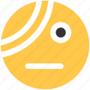 bandage, emoji, emoticon, illness, pain, patient icon icon