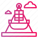 boat, fair ship icon