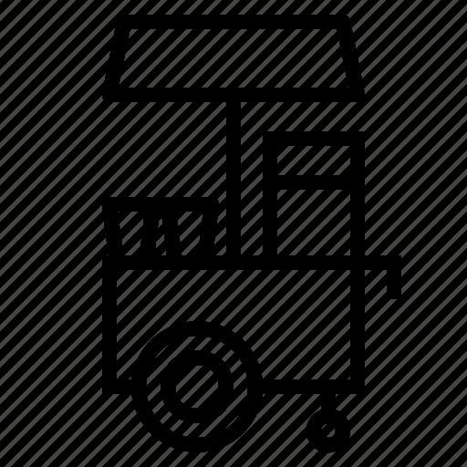 popcorn, popcorn shop icon