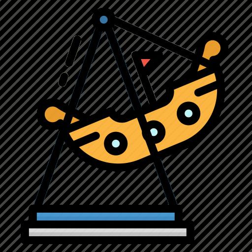 childhood, fair, fun, playground, ship icon