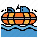 boats, bumper, hobbies, parks, theme icon