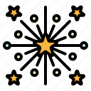 celebration, festival, firework, party, rocket icon