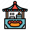 food, hotdog, restaurant, sandwich, sausage icon