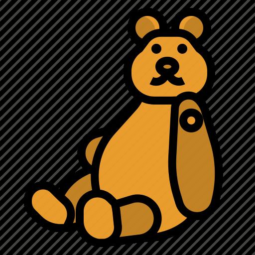 bear, crane, fair, machine, teddy icon