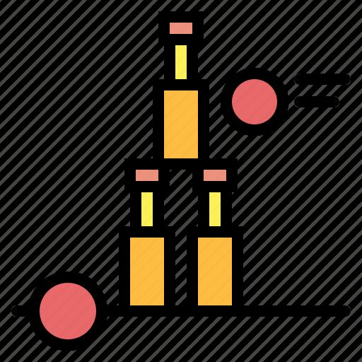 bottle, bottle throw icon