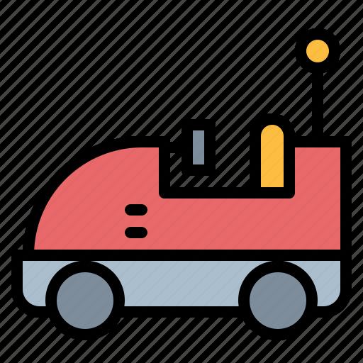 bumper car, car icon