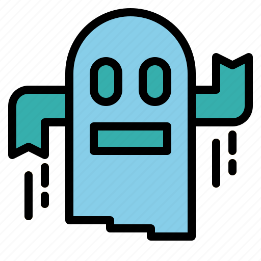 ghost, halloween, monster icon