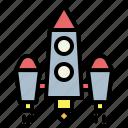 rocket, startup icon