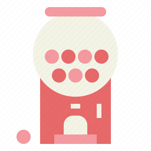 candies, candy, candy machine, gum, sweets icon