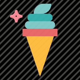 dessert, ice cream icon