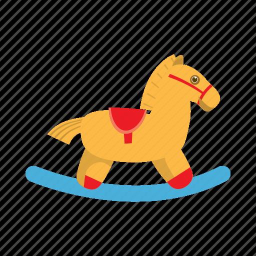 cartoon, child, childhood, fun, horse, play, rocking icon