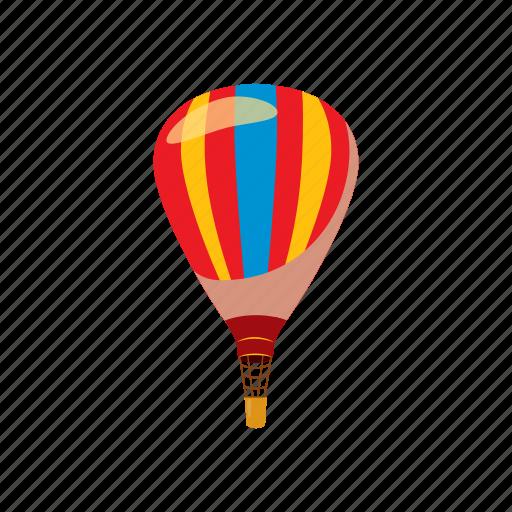 air, balloon, cartoon, fly, fun, hot, sky icon