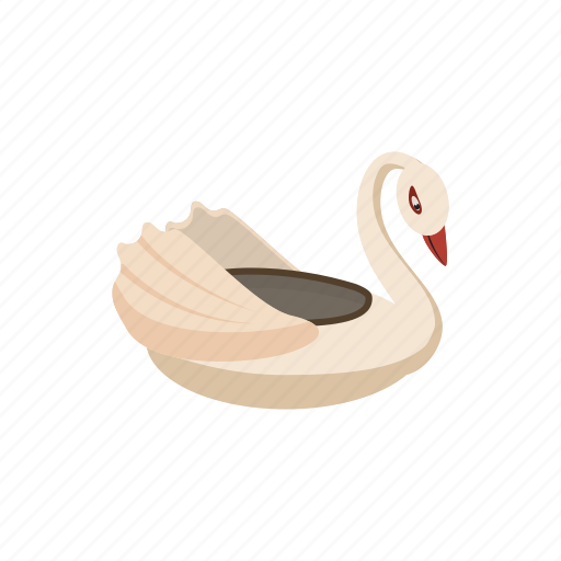 boat, bumper, cartoon, childhood, fun, park, swan icon