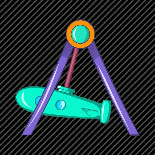 amusement, carnival, cartoon, fun, park, rocket, swing icon