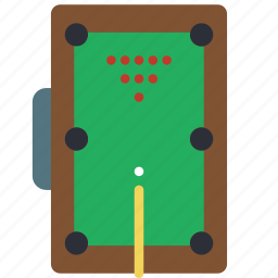 amusements, fair, fun, game, pool, snooker, table icon
