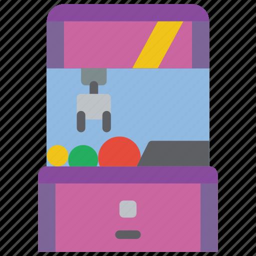 Amusements, fair, fun, game, grab, grabber, machine icon - Download on Iconfinder
