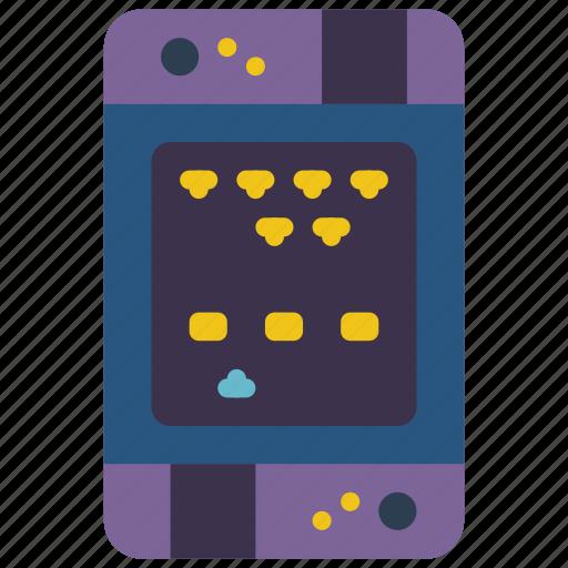 Invader, arcade, fair, space, game, fun, amusements icon