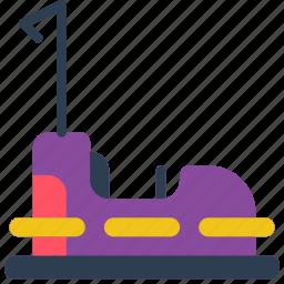 amusements, bumper, car, dodgem, fair, fun icon