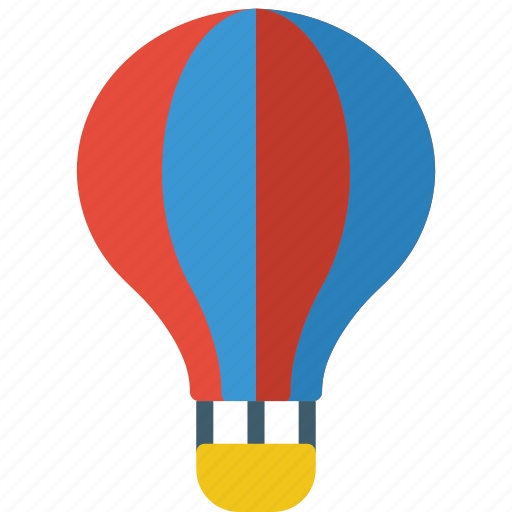 Air, amusements, balloon, fair, fun, hot icon - Download on Iconfinder