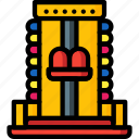 amusements, carnival, dipper, fair, fun, ride icon