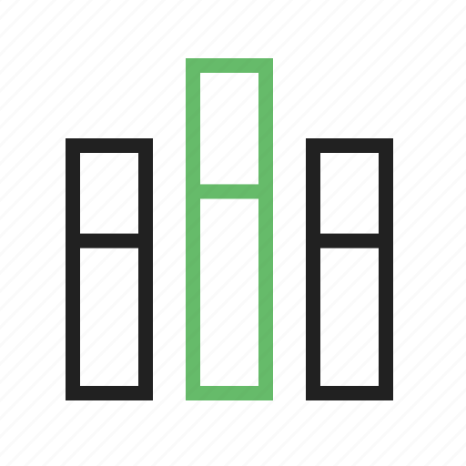 bar, business, chart, diagram, finance, graph, vertical icon