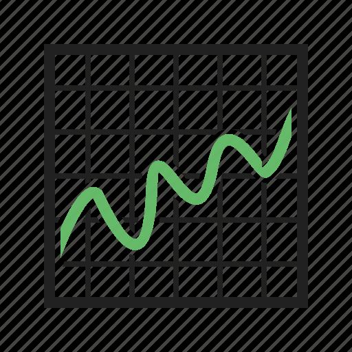 bell, curve, deviation, distribution, standard, statistics icon