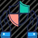 antivirus, computer antivirus, internet security, protection, web safeguard icon
