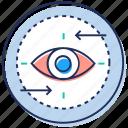 audit, checking, monitoring, remote monitoring, survey icon