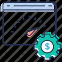 performance optimization, web loading test, web speed, website loading, website performance test icon