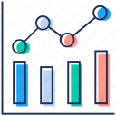 business development, business graph, financial growth, increase graph, profit analysis, sales growth icon