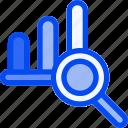 analytic, analytics, stat, statistic, view icon